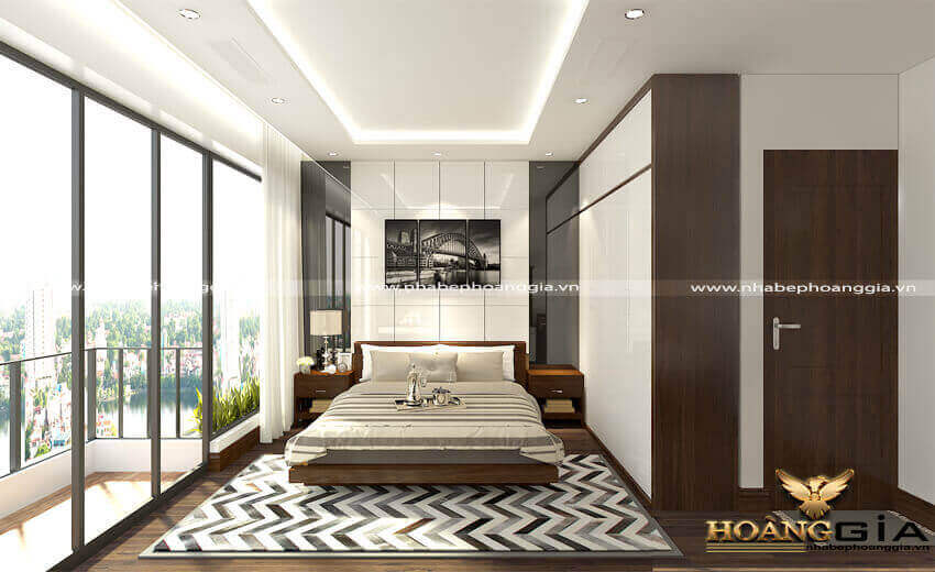 trang trí phòng ngủ sang trọng như khách sạn