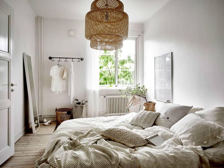 mẫu phòng ngủ đẹp phong cách Scandinavian