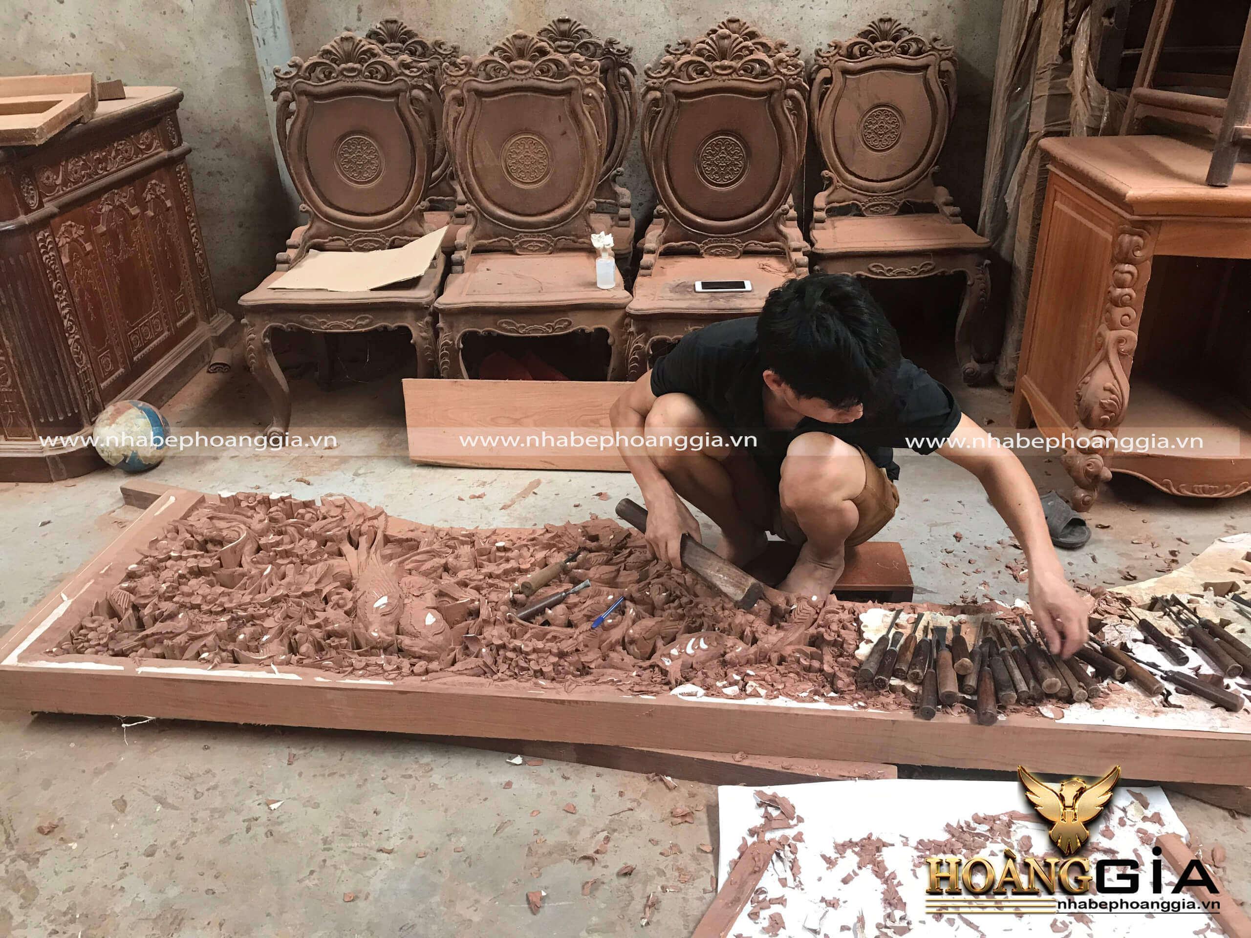 thi công nội thất gỗ