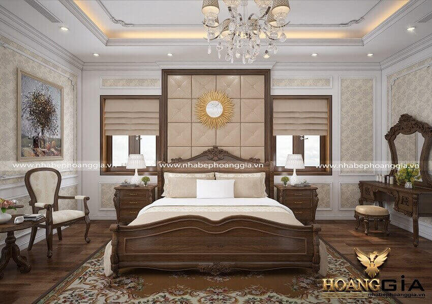 mẫu giường ngủ Kingsize đẹp
