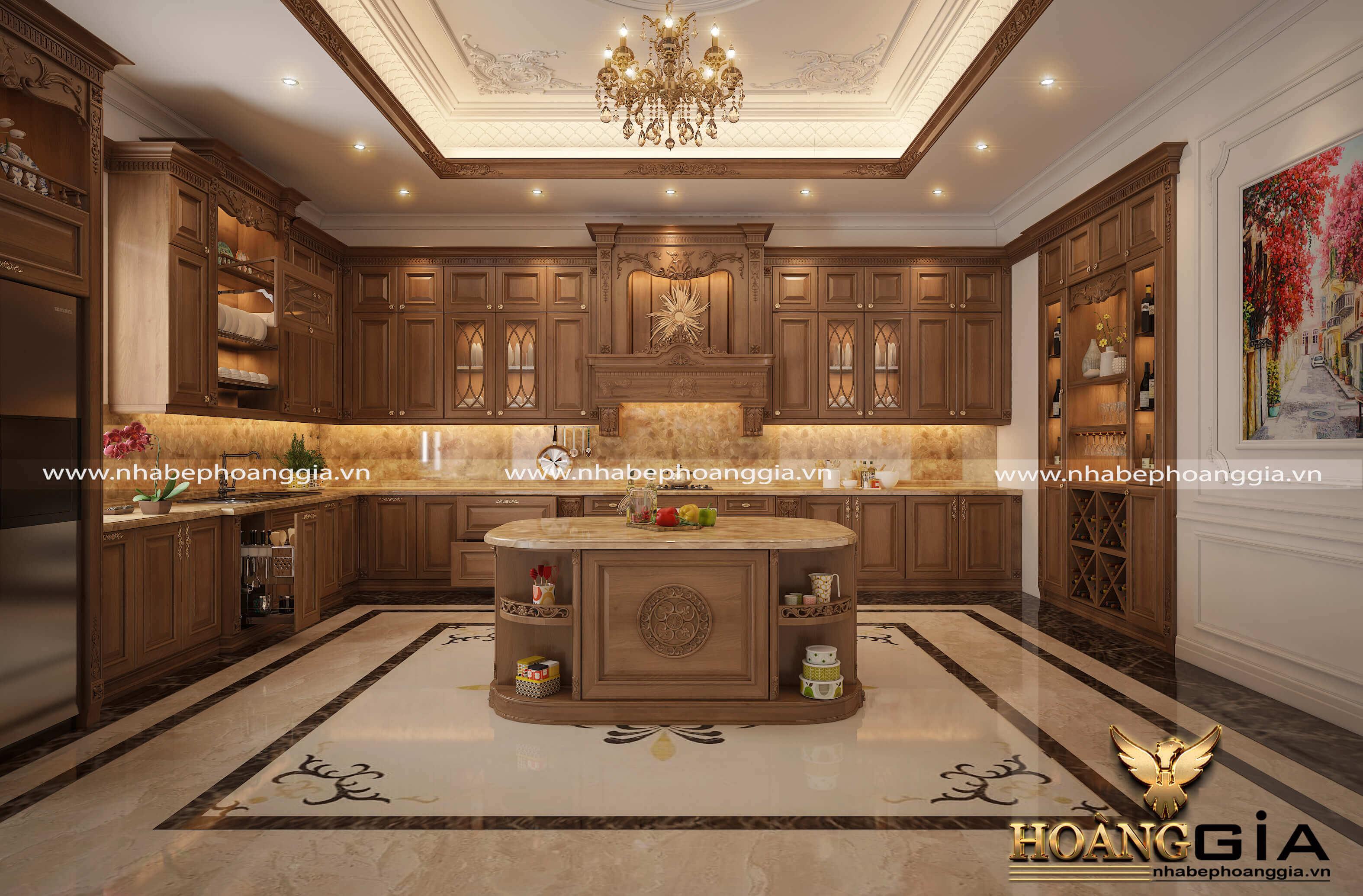 mẫu thiết kế nhà bếp đẹp nhất