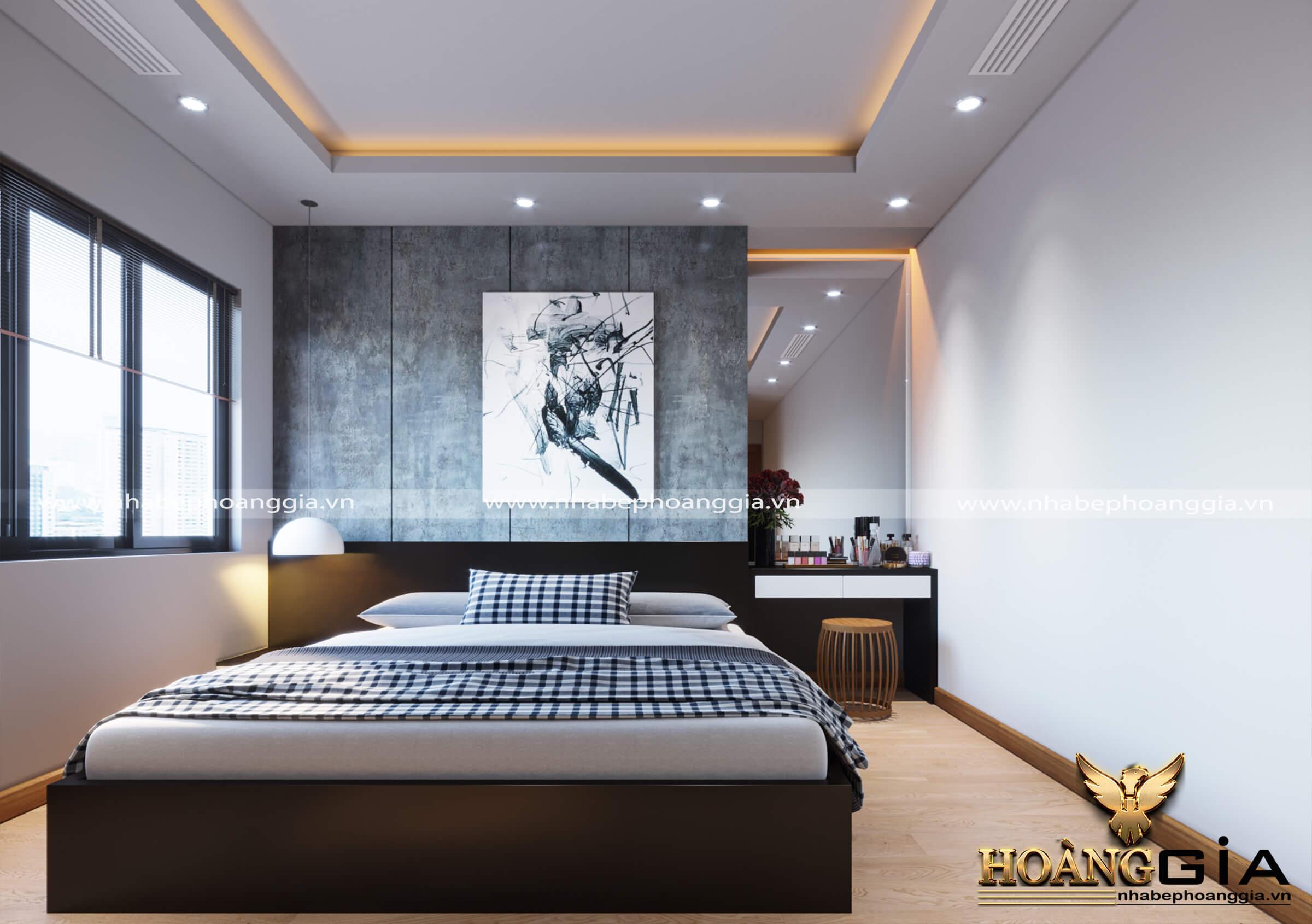 giường ngủ hiện đại cho nhà chung cư