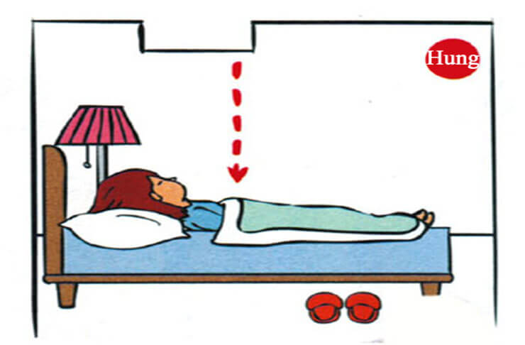 kiêng kỵ phòng ngủ