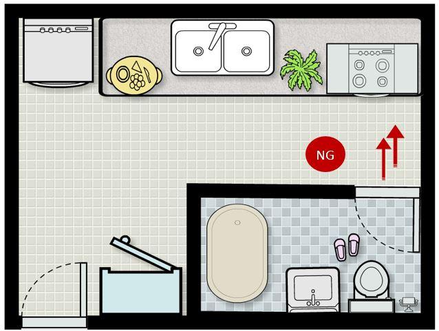 lỗi thiết kế bếp nấu