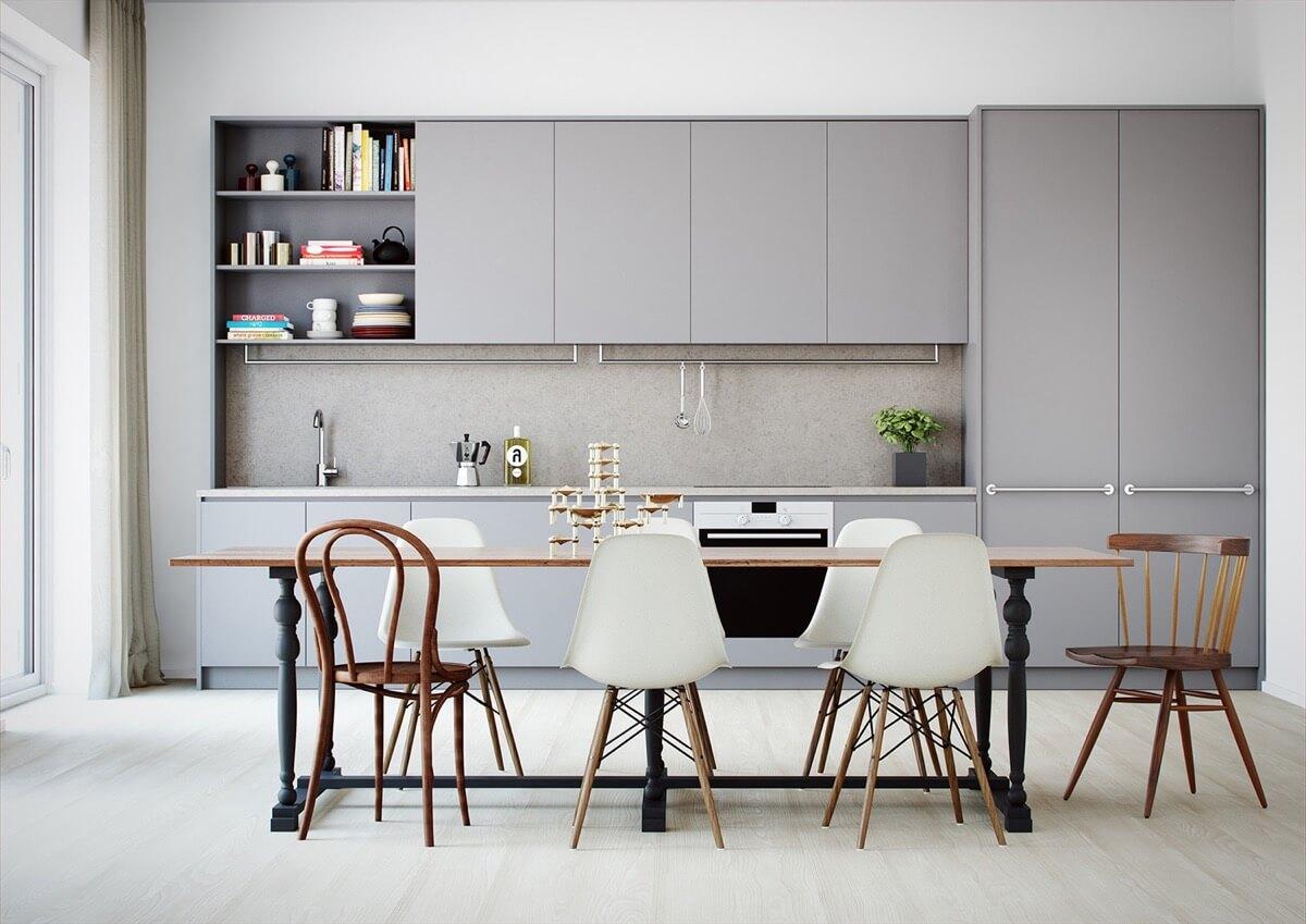 màu sơn phòng bếp đẹp