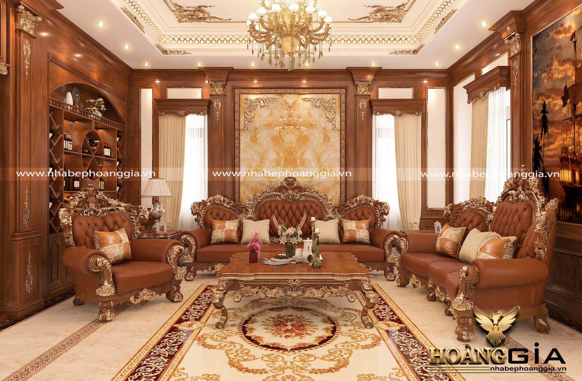 nội thất tân cổ điển cho nhà biệt thự