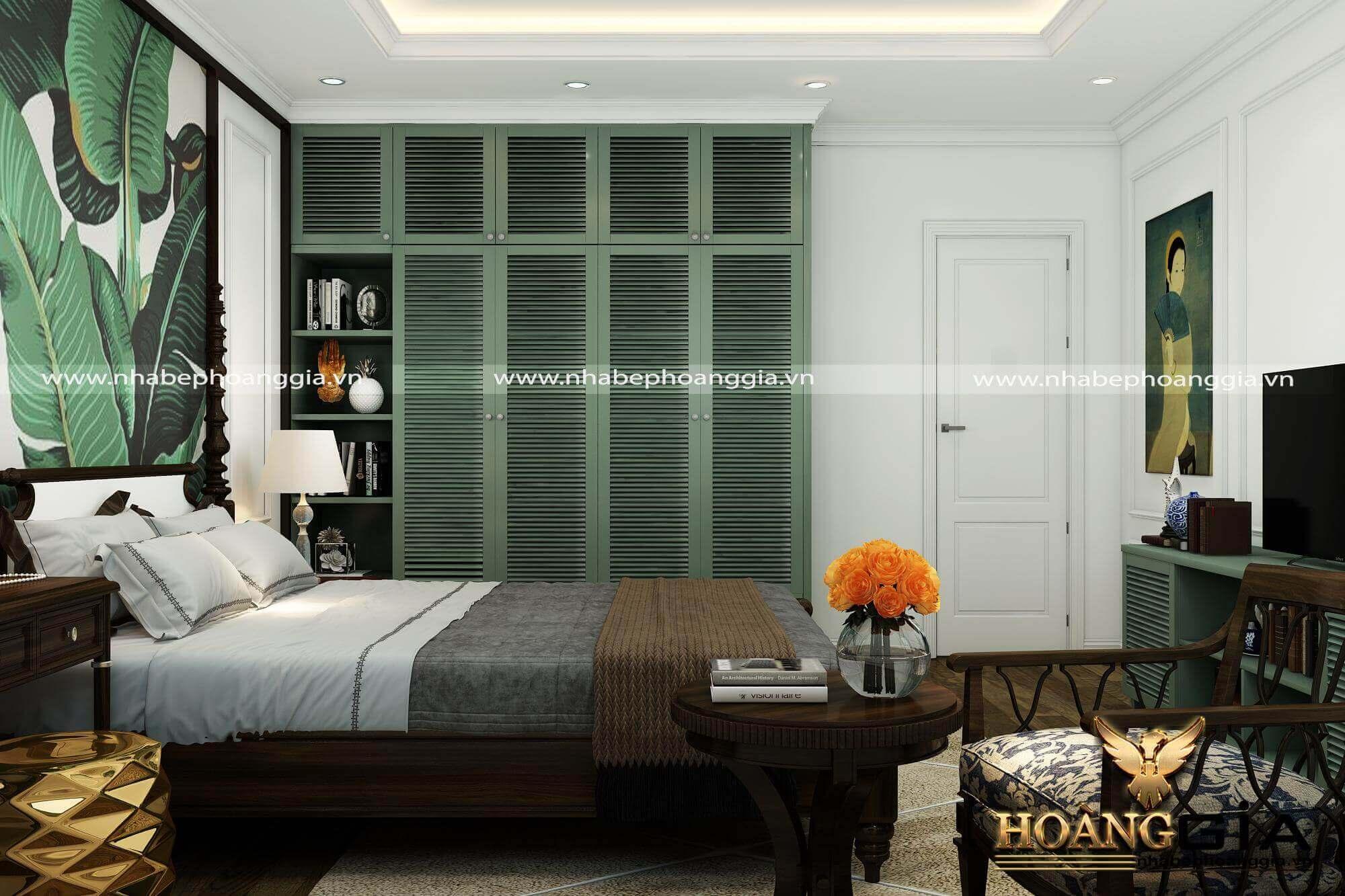 Thiết kế nội thất phòng ngủ đẹp bất chấp