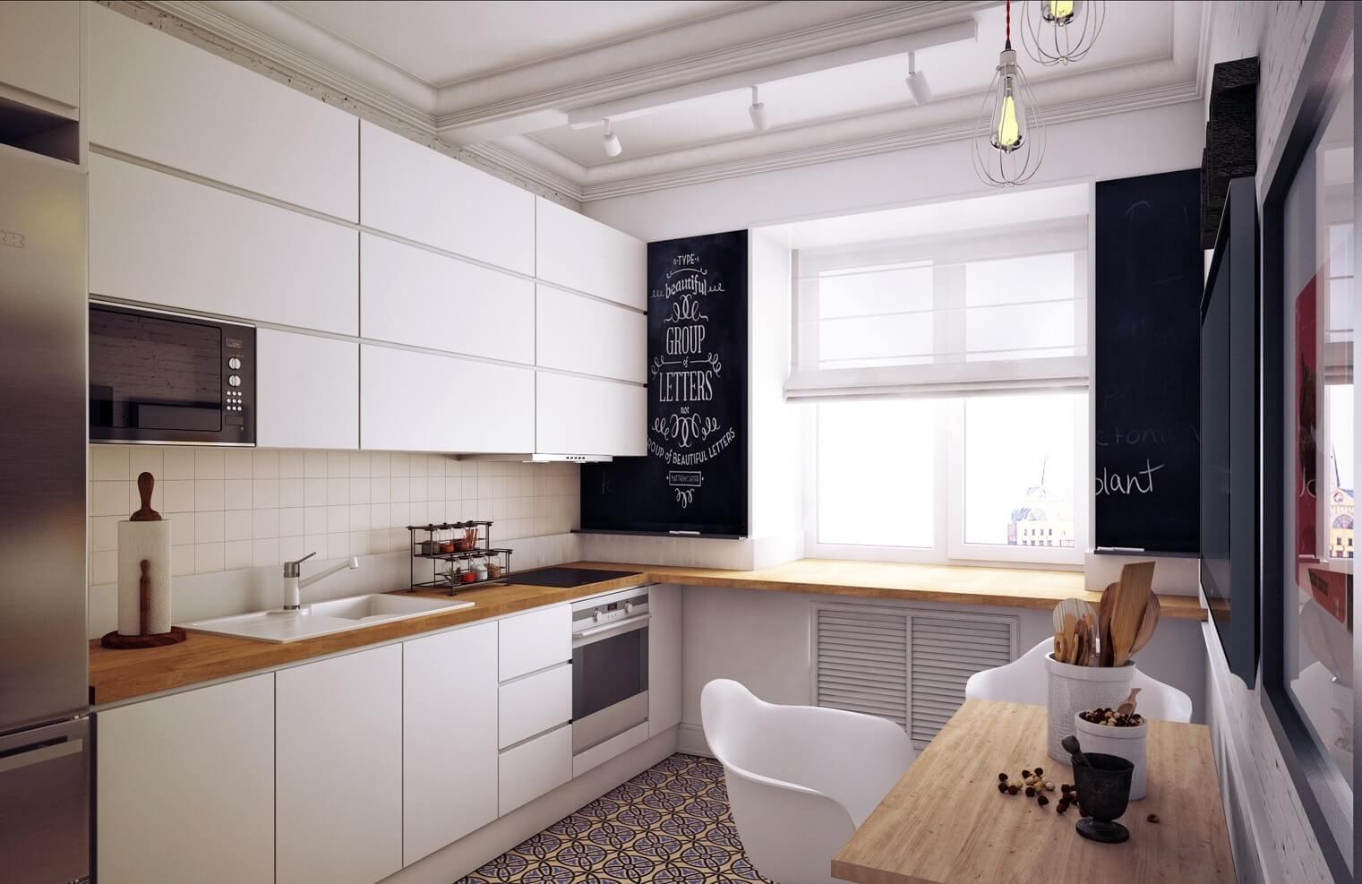thiết kế phòng bếp nhỏ xinh