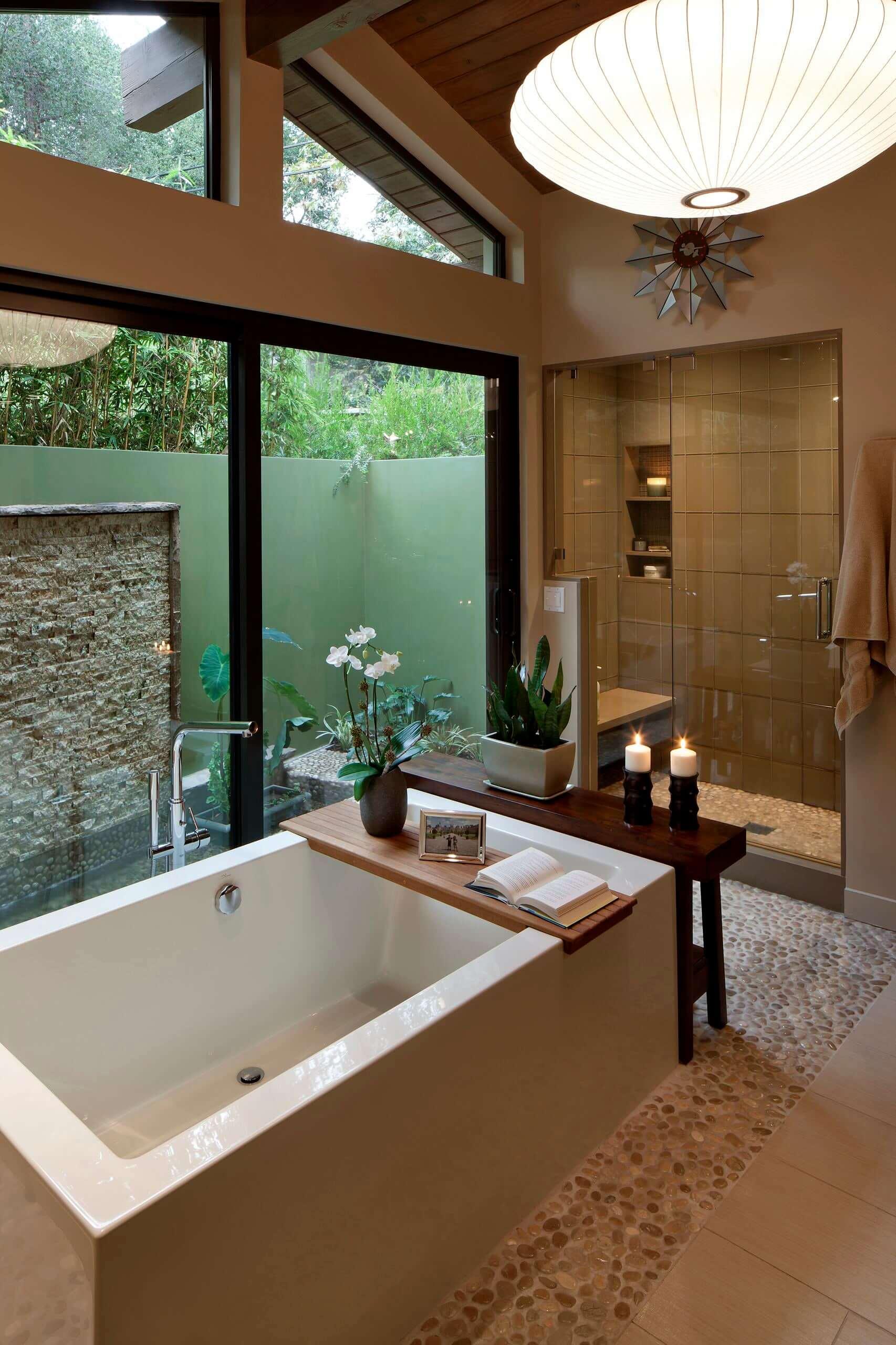 thiết kế spa mini tại nhà
