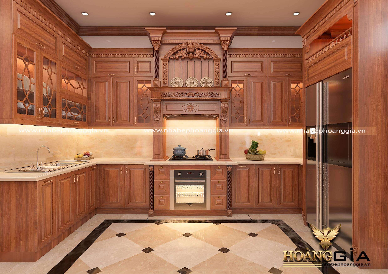 cách chống ẩm cho tủ bếp