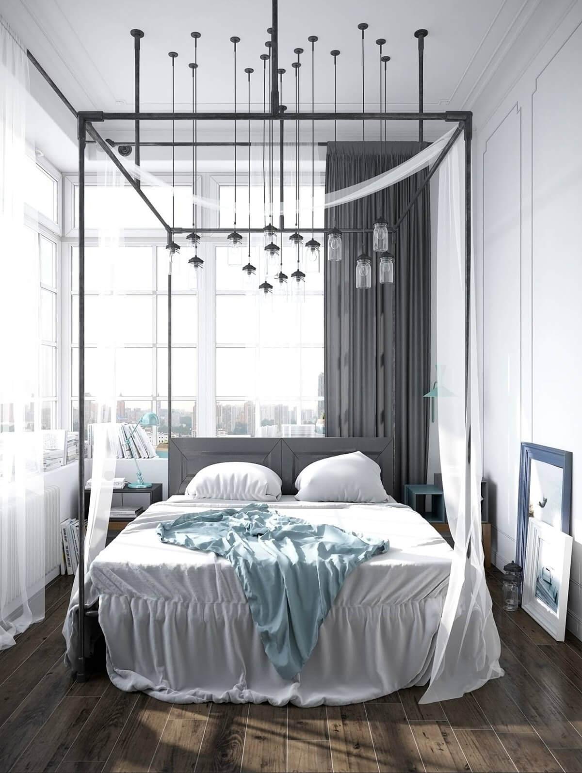 kiểu giường Capony hiện đại