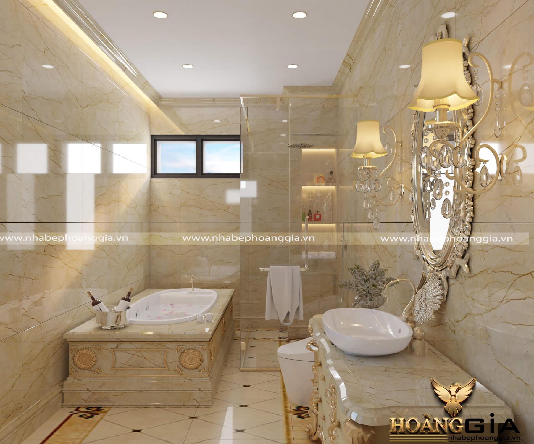 nguyên tắc thiết kế phòng tắm