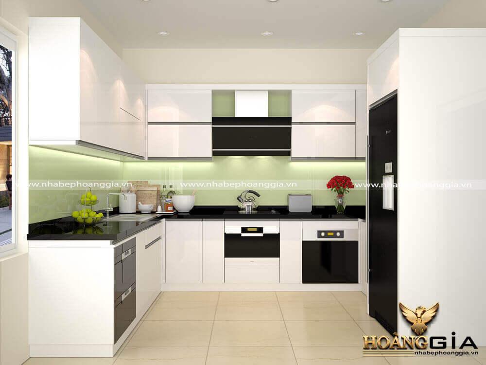 so sánh ưu nhược điểm của tủ bếp Melamine Laminate Acrylic