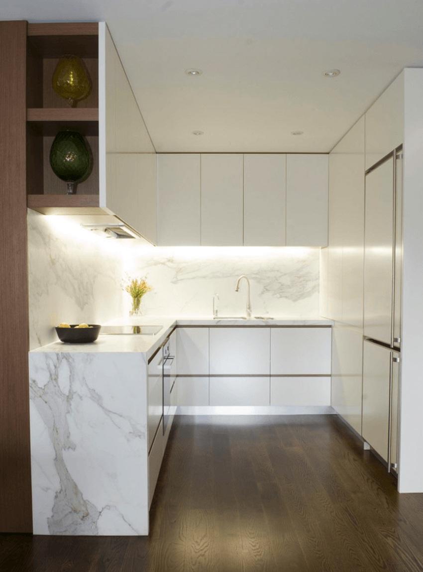 tạo điểm nhấn cho phòng bếp