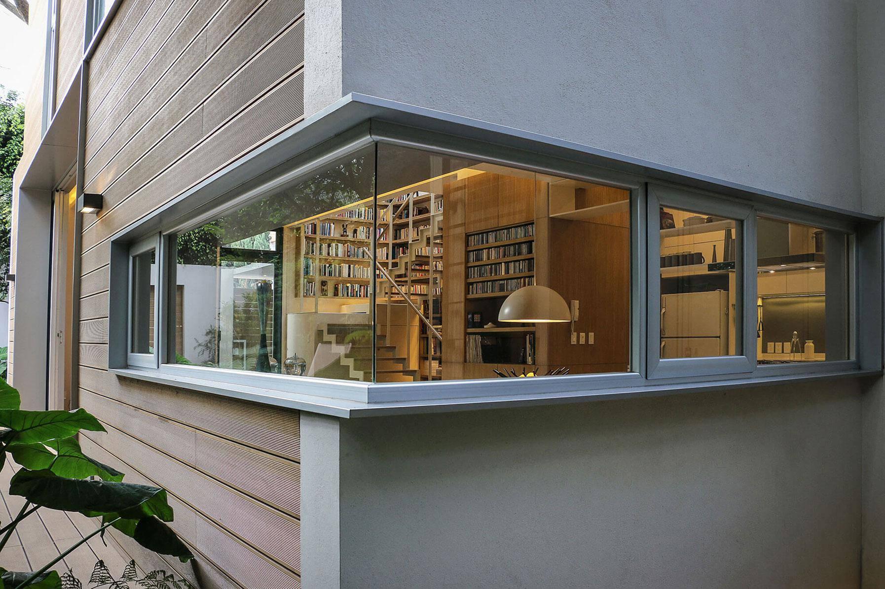 thiết kế cửa sổ góc