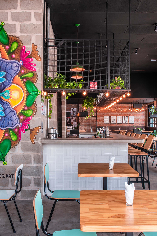 thiết kế nhà hàng đơn giản đẹp 2019