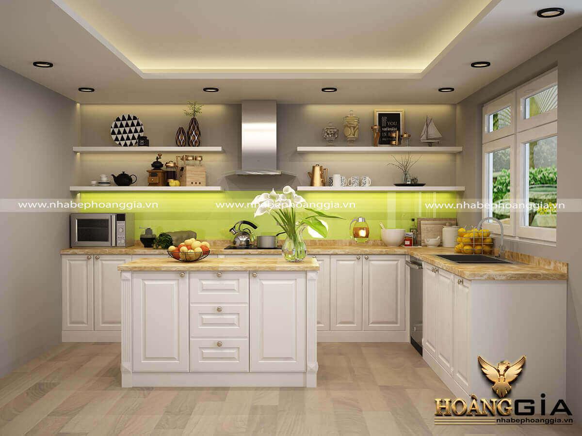 thiết kế phòng bếp nhà cấp 4 đẹp