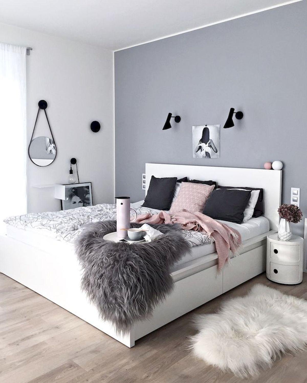 thiết kế phòng ngủ mùa đông