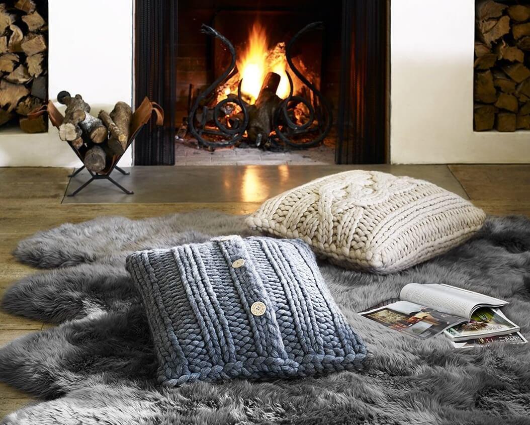 trang trí nội thất mùa đông