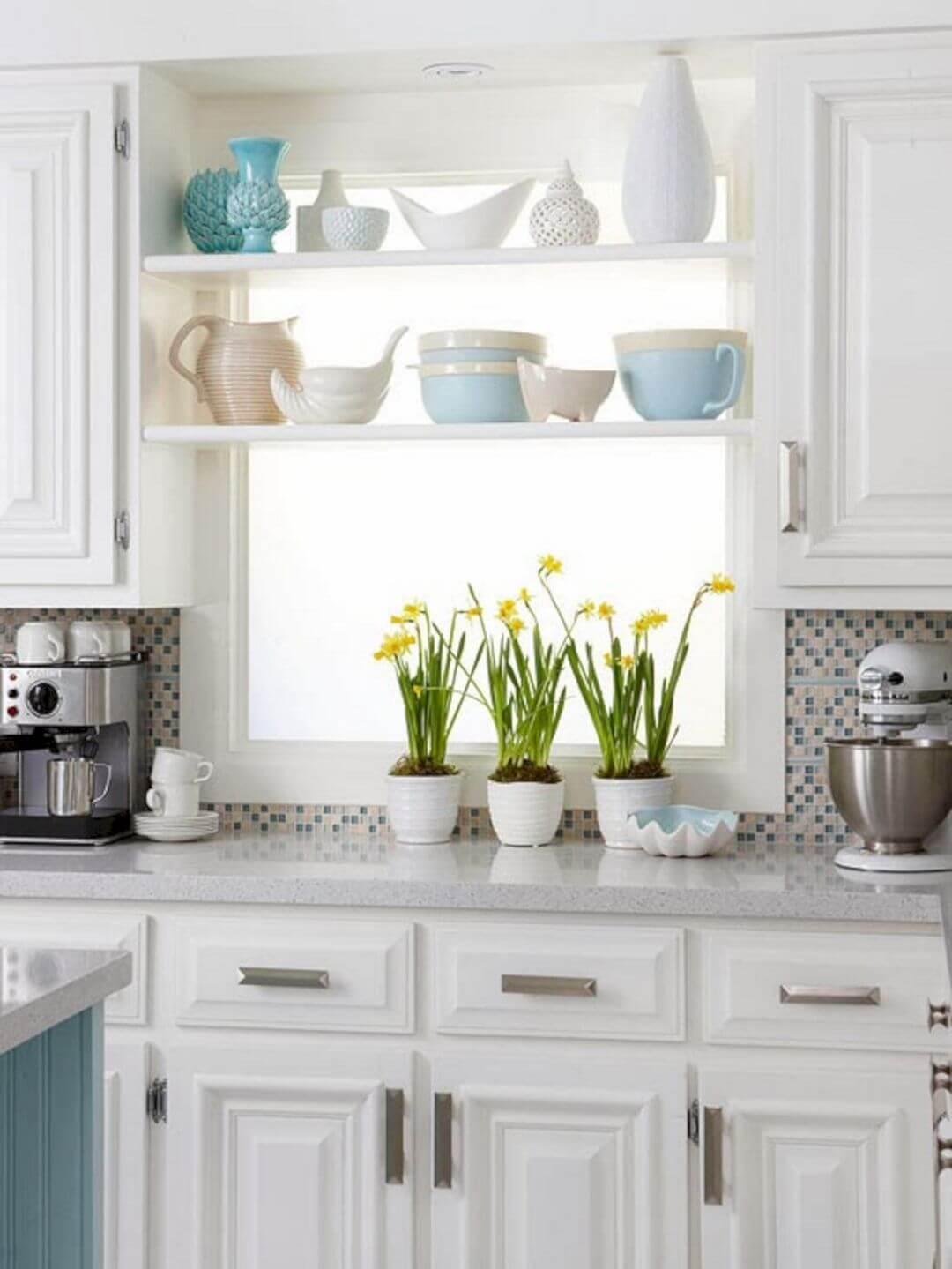 trang trí phòng bếp nhỏ