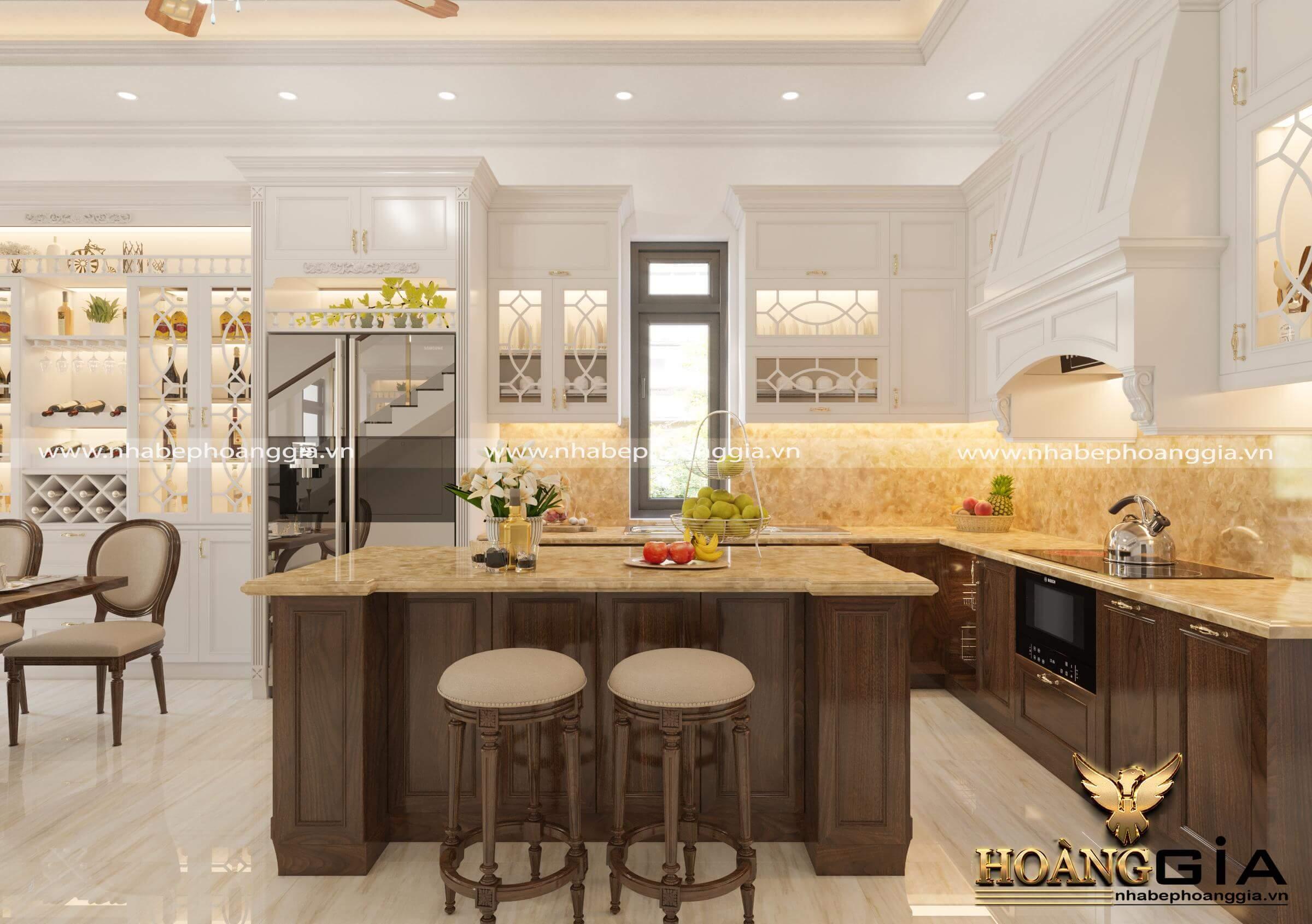 tủ bếp đẹp đón đầu xu hướng 2020