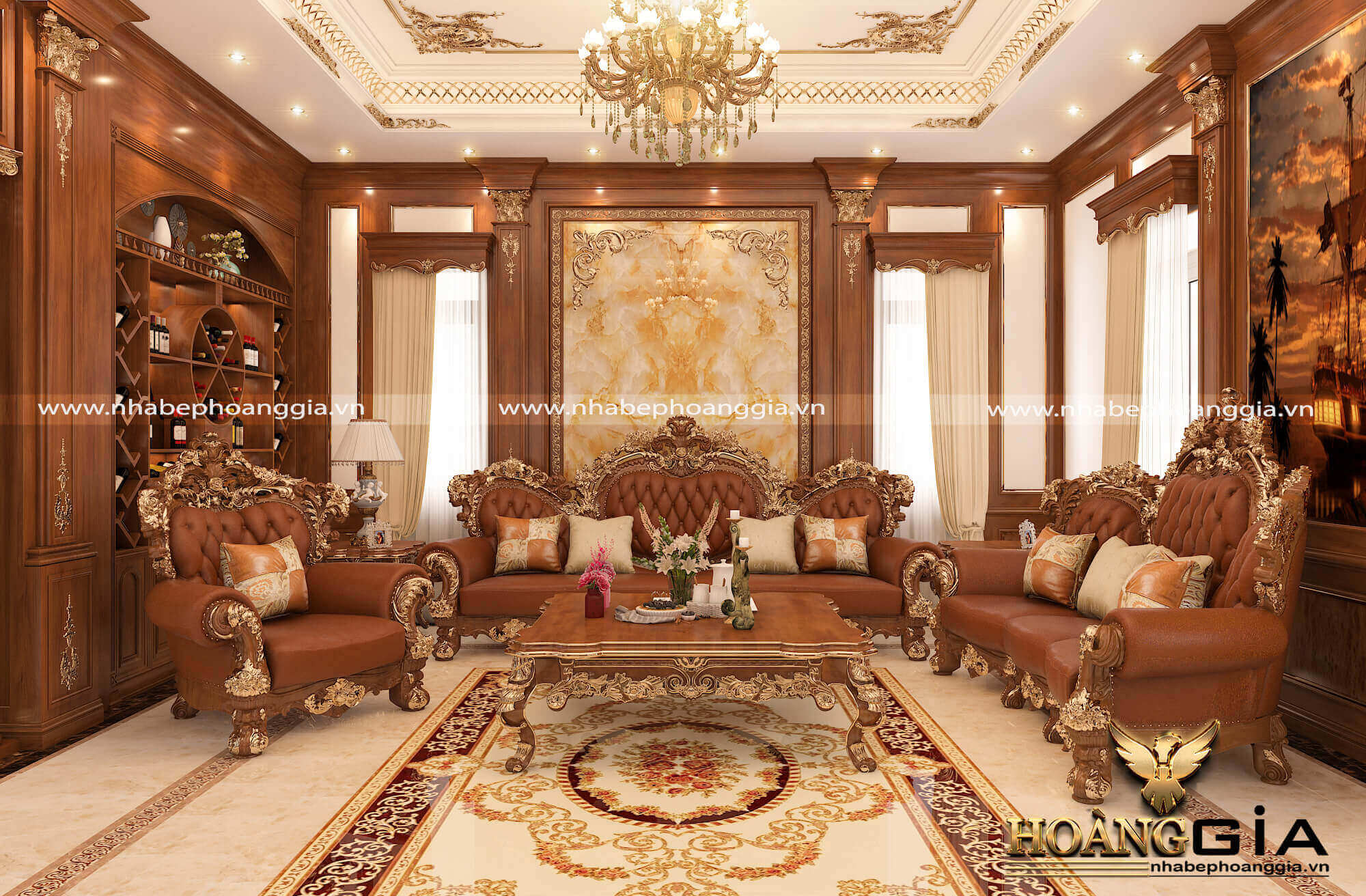 vật liệu trong thiết kế nội thất cao cấp