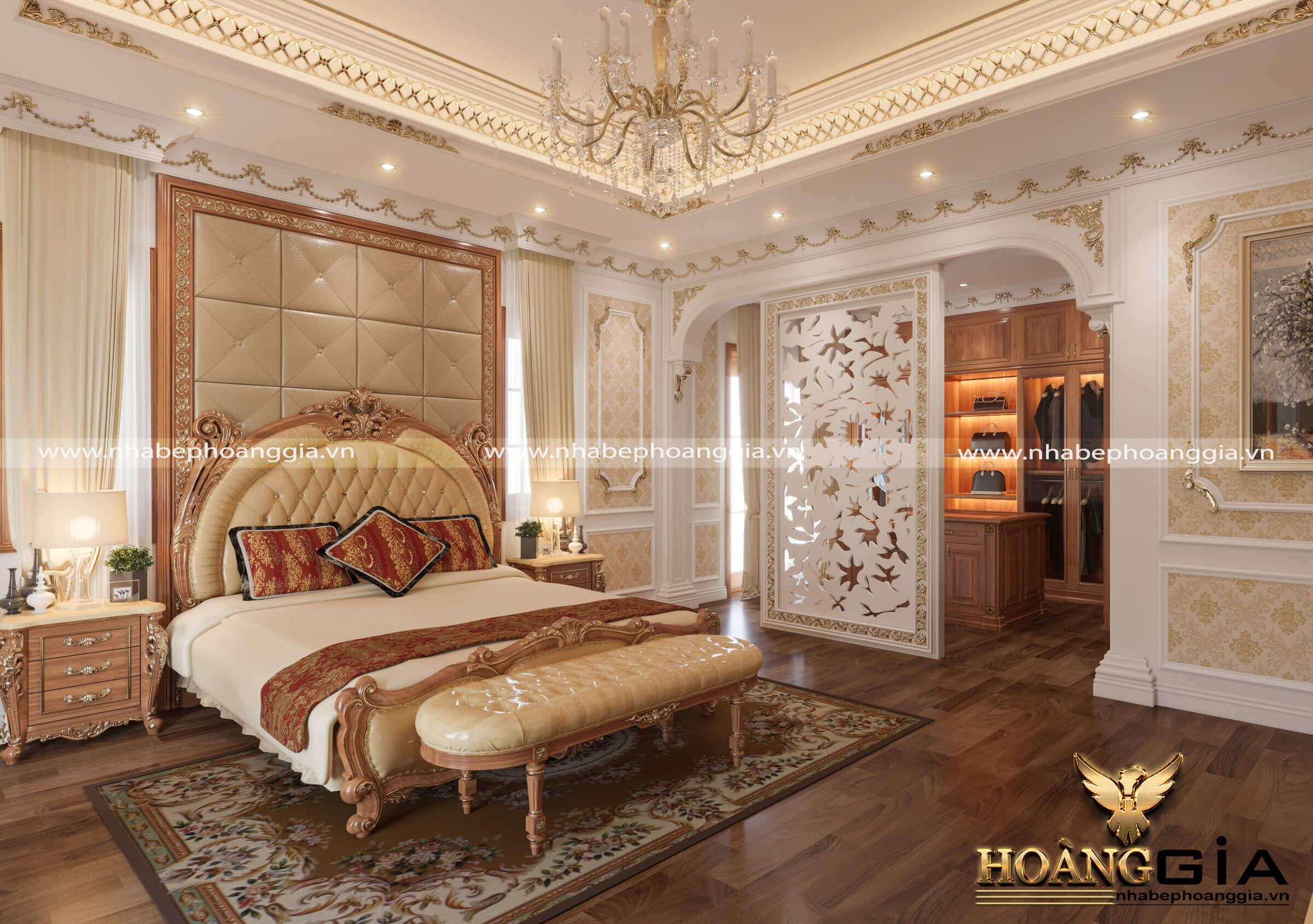 giường ngủ gỗ tự nhiên đẹp nhất 2020