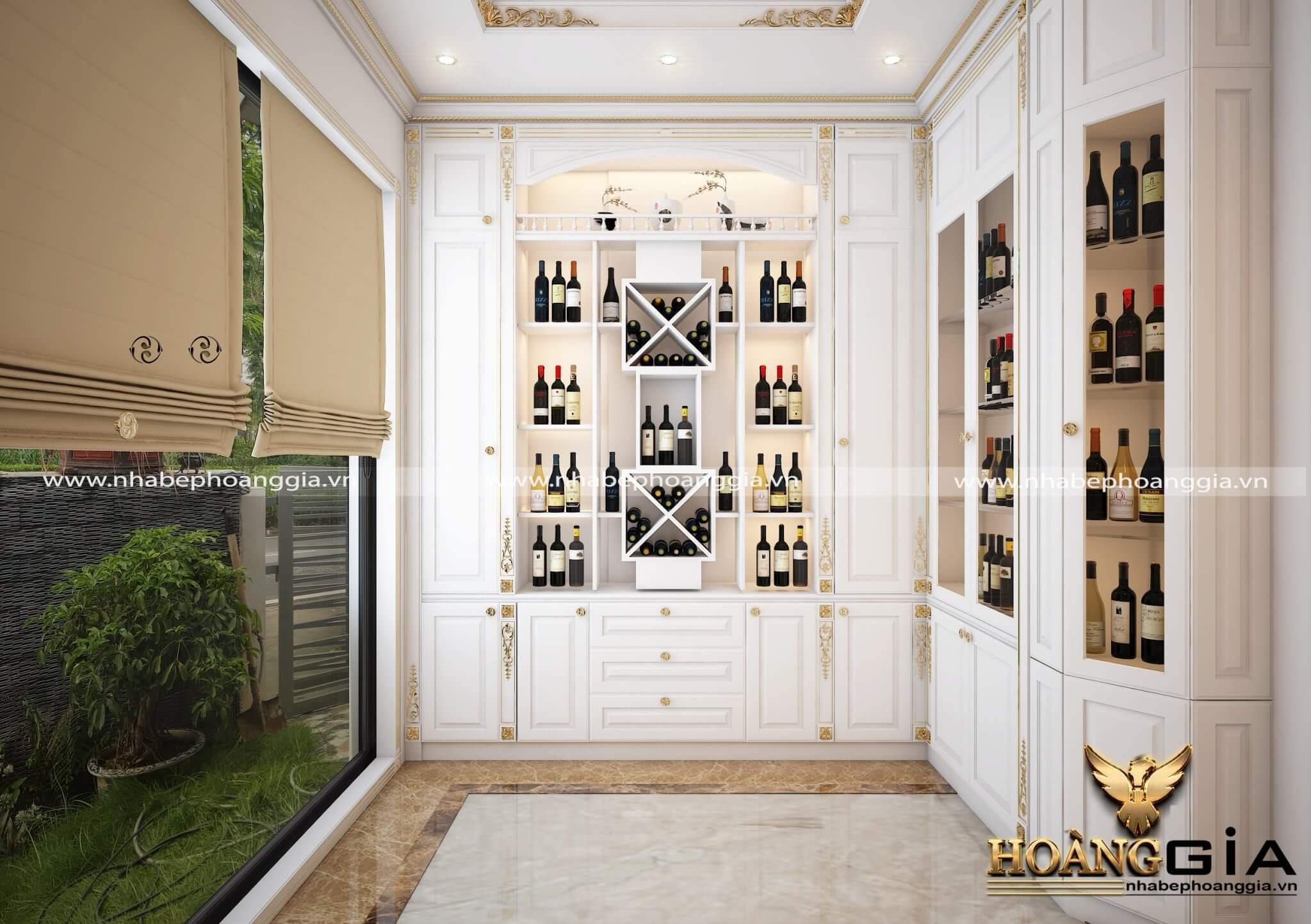 kích thước tiêu chuẩn tủ rượu