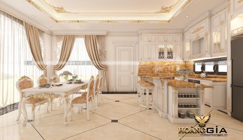lựa chọn gạch lát sàn phòng bếp
