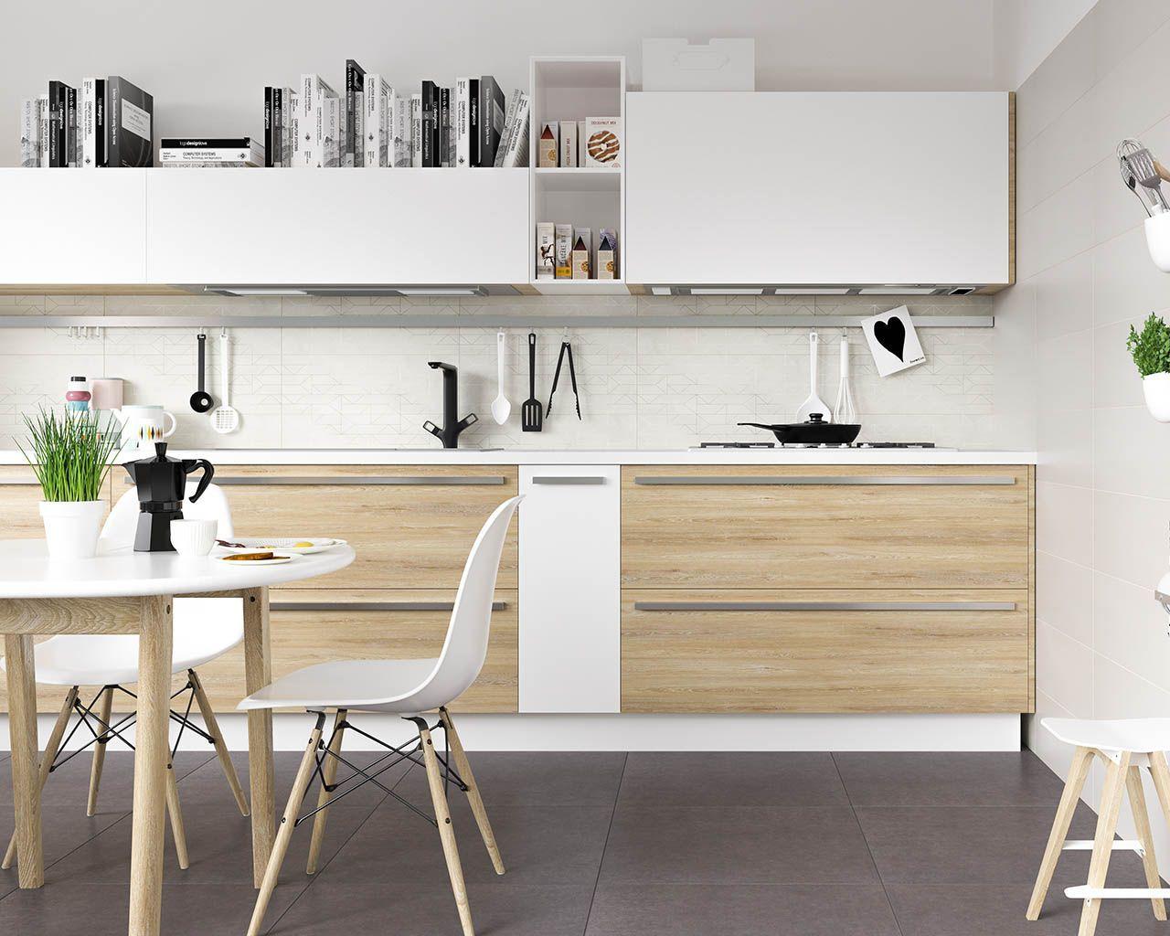 nội thất nhà bếp Châu Âu hiện đại