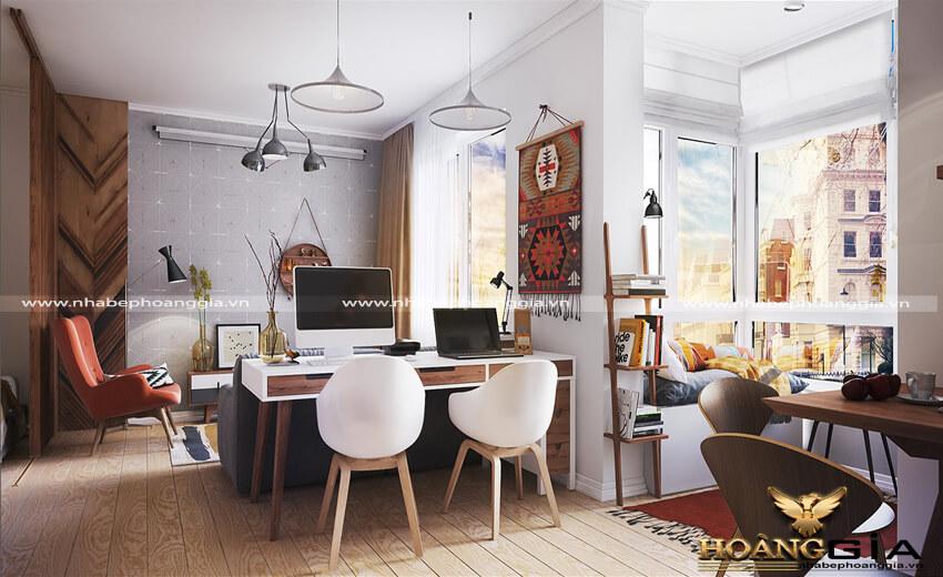 thiết kế căn hộ Studio