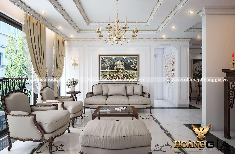 thiết kế nội thất tân cổ điển cho chung cư