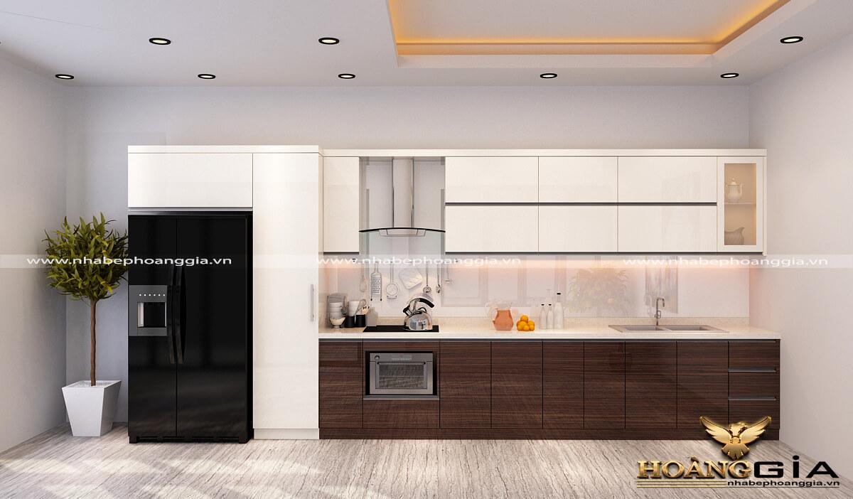 thiết kế tủ bếp đẹp hiện đại