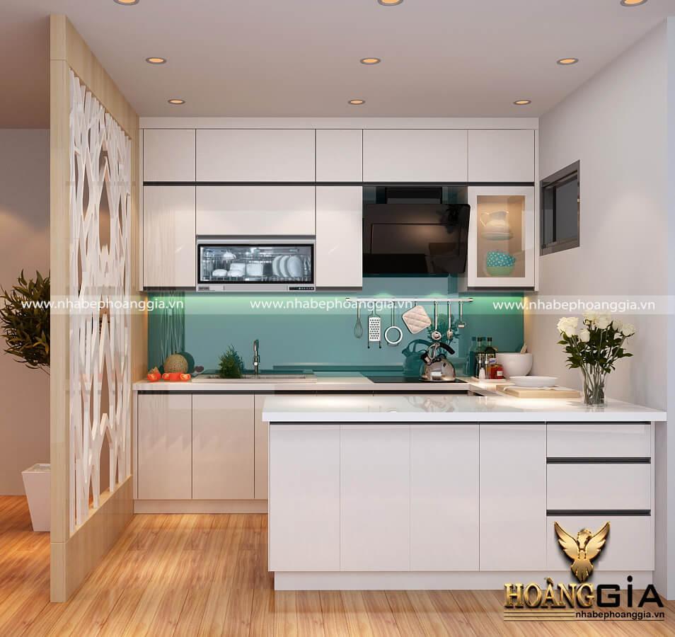tủ bếp gỗ Acrylic cao cấp