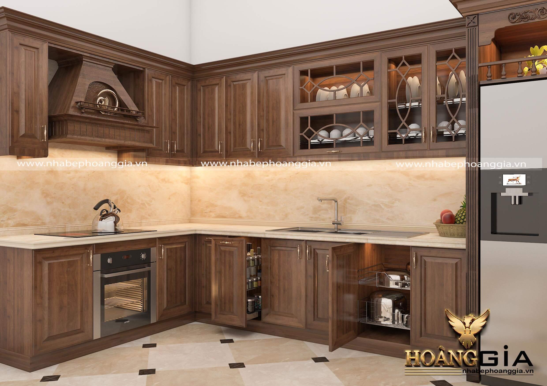 lựa chọn tủ bếp cho nhà nhỏ