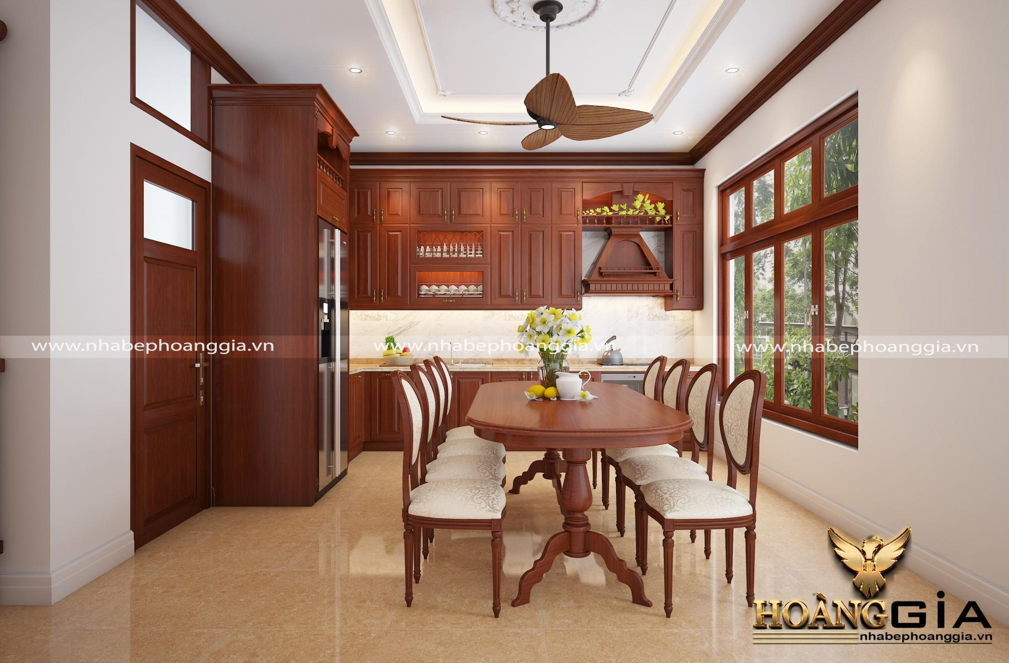 thiết kế thi công tủ bếp tại Bắc Ninh