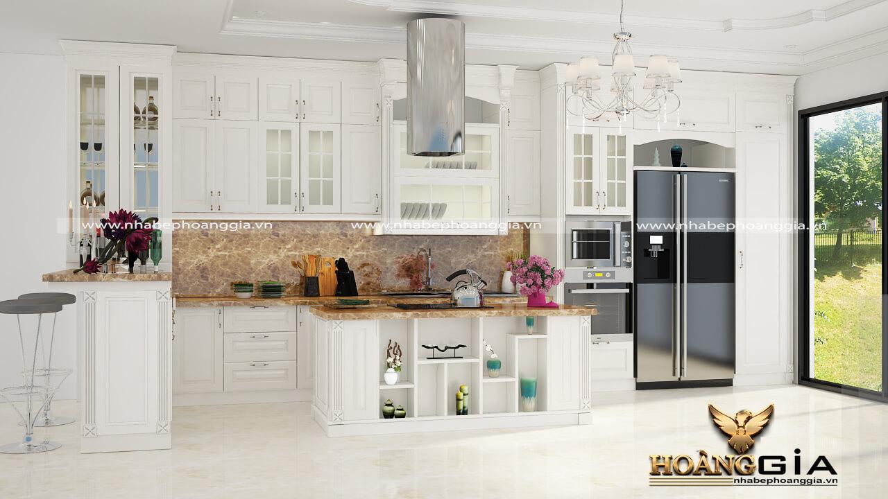 trang trí nhà bếp đón tết
