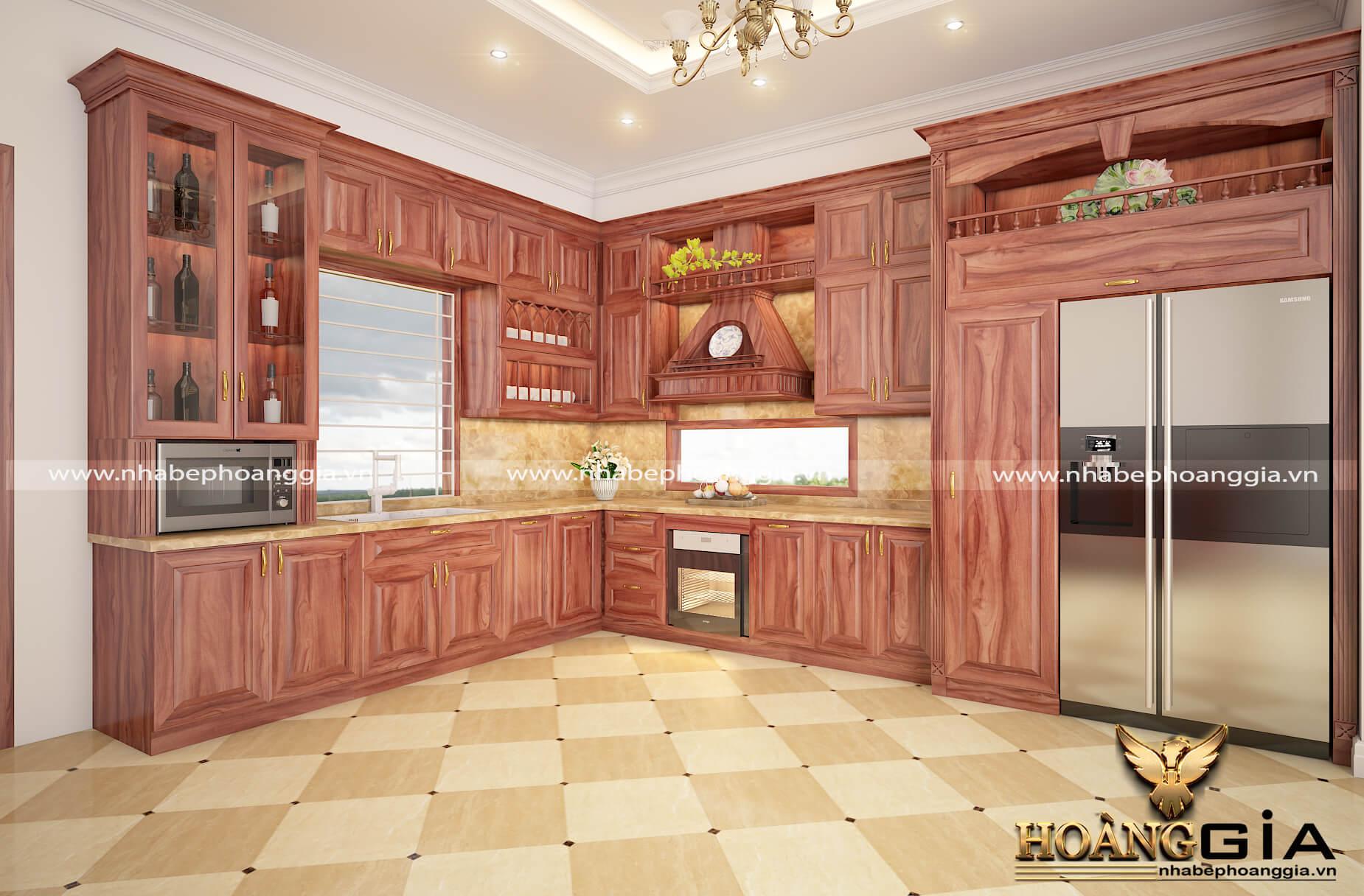 tủ bếp cho người mệnh Hỏa