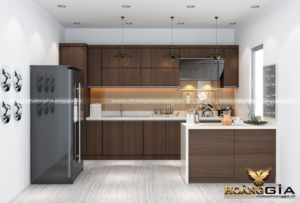 tủ bếp gỗ công nghiệp MFC có bền không