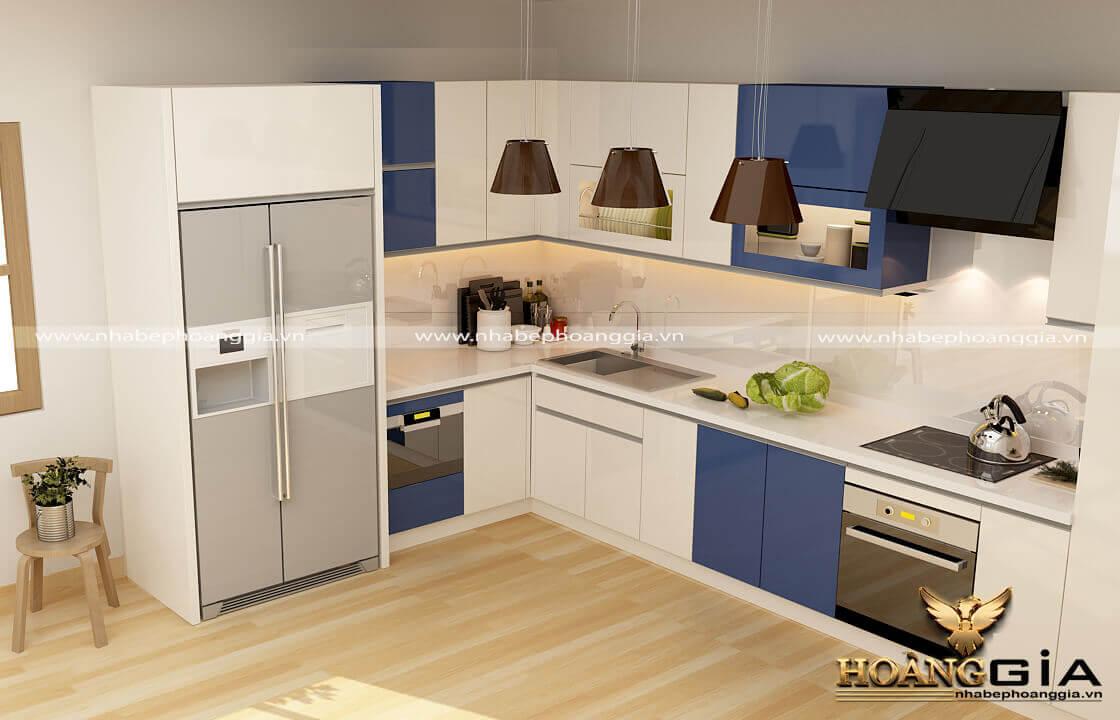 có nên làm tủ bếp 100% gỗ nhựa không