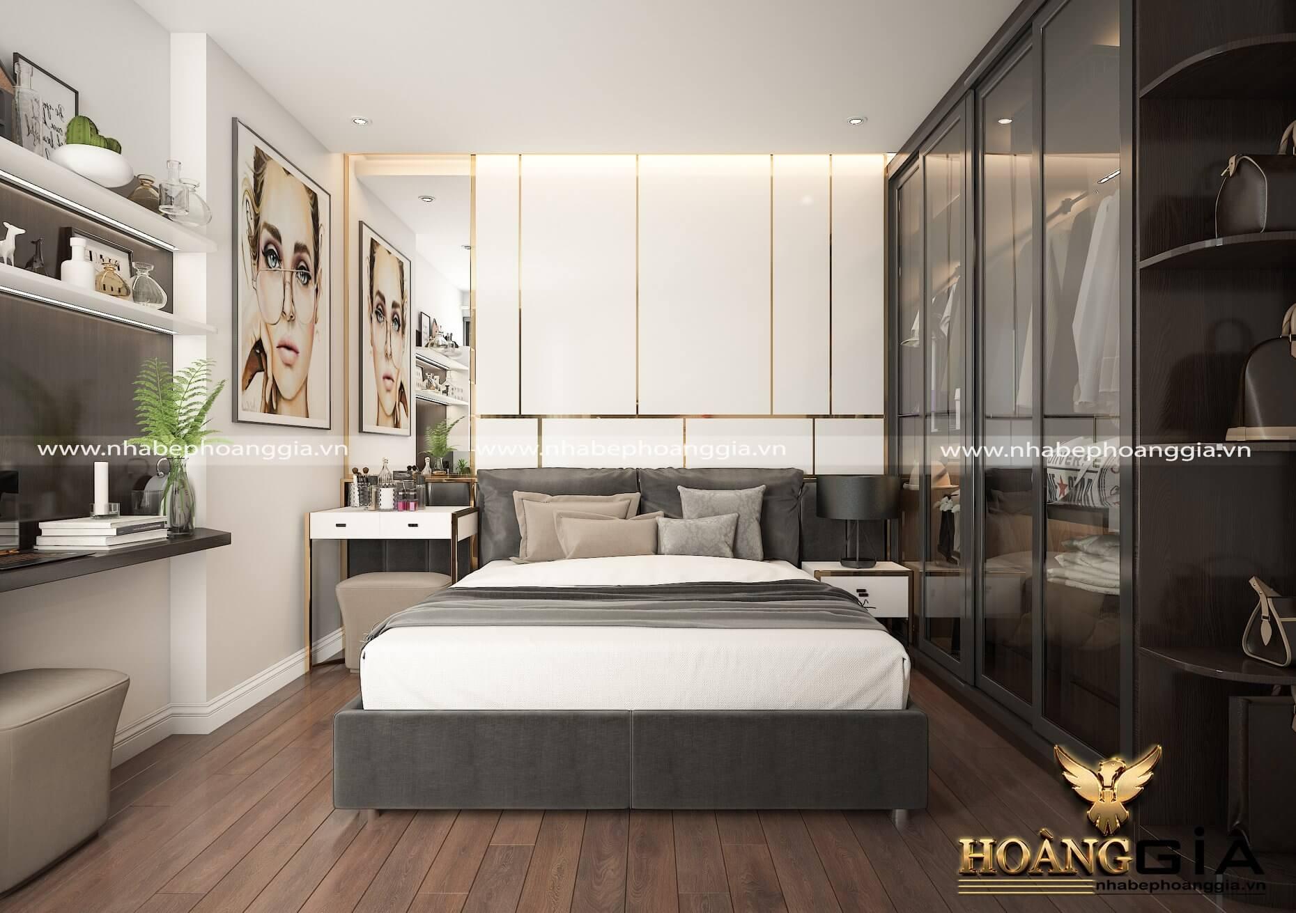 thiết kế sàn gỗ cho phòng ngủ