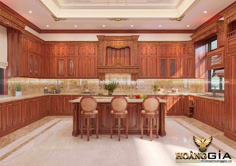 thiết kế thi công tủ bếp tại Ninh Bình