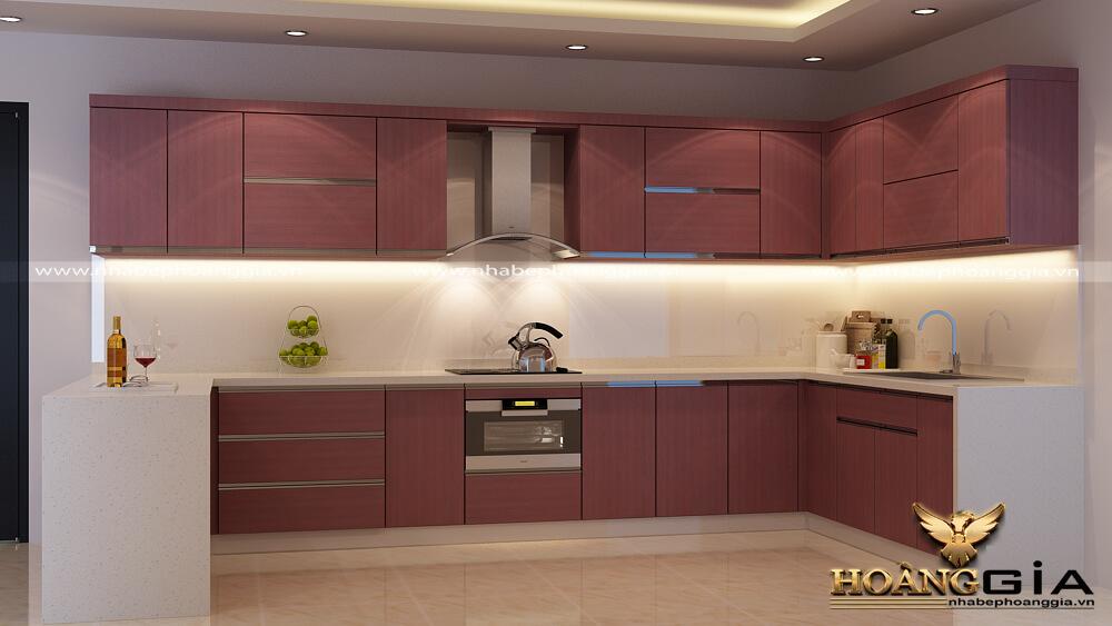 tủ bếp HDF là gì