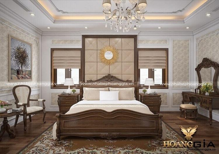 đặc trưng của phòng ngủ tân cổ điển