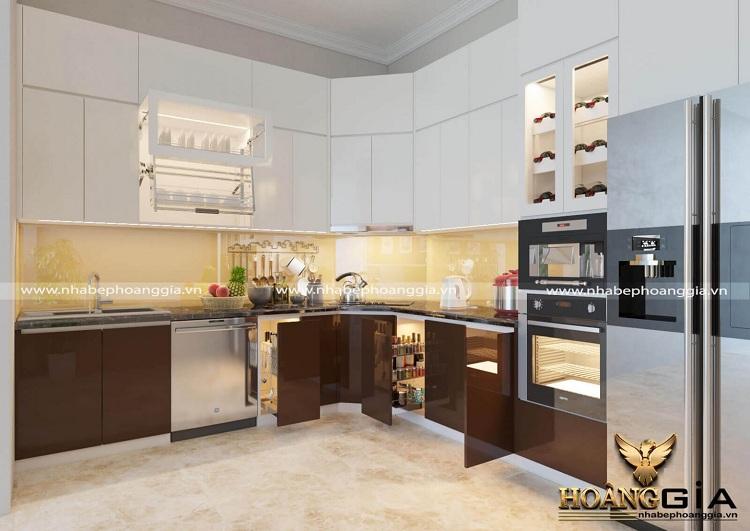 sắp xếp phòng bếp nhà chung cư