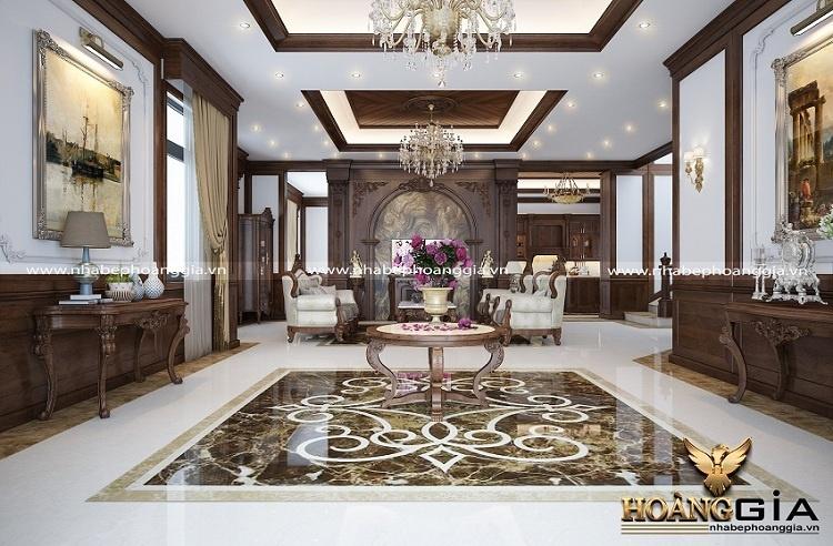 thiết kế thi công nội thất tân cổ điển tại Quảng Ninh