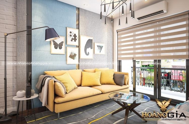 phối màu nội thất chung cư