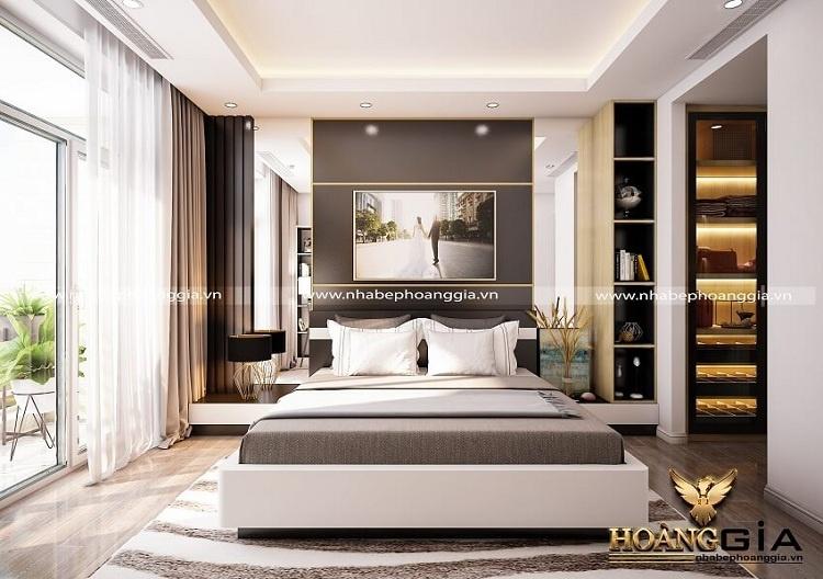 mẫu phòng ngủ chung cư cao cấp