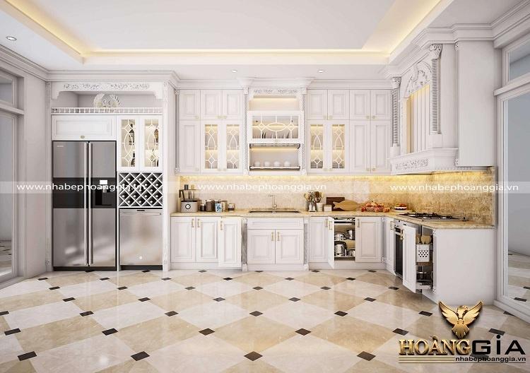 thiết kế thi công tủ bếp tại Tuyên Quang