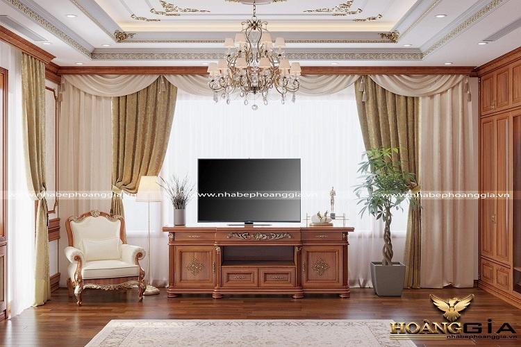lựa chọn rèm trong nội thất tân cổ điển